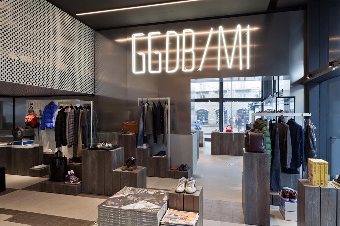 Golden Goose, flagship store - A13 Studio