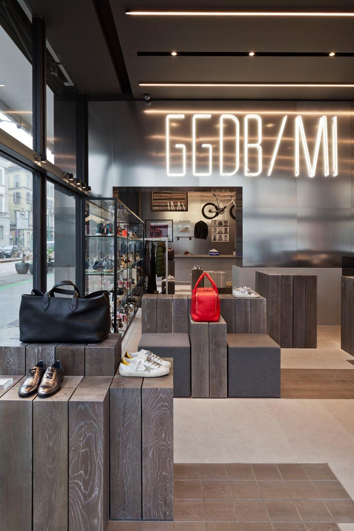 Golden Goose, flagship store
